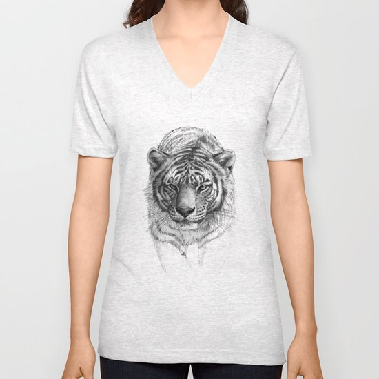 Tiger SK0102 Unisex V-Neck