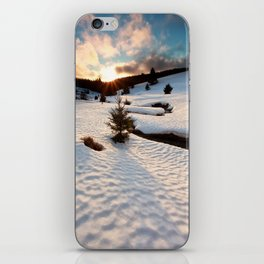 Winter story iPhone Skin