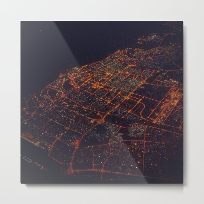 desert lights Metal Print