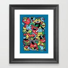 Barney Blimpsta Framed Art Print