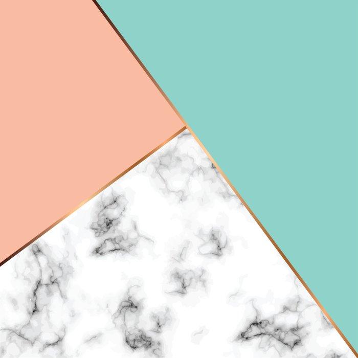 Marble Geometry 056 Comforters