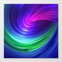 Twisting Forms #5 Canvas Print