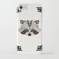 raccoon iPhone & iPod Cases featuring raccoon! by Manoou