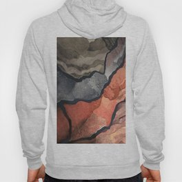 Canyons of Color Pattern Hoody