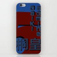 kuroko iPhone & iPod Skins featuring Aomine Daiki by Selis Starlight