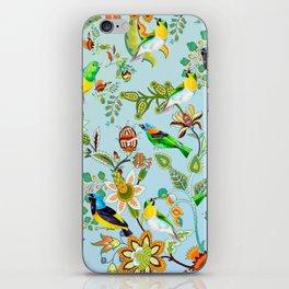 Colourful Birds Chintz Multicolour iPhone Skin