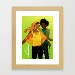 My literal sunshine Framed Art Print