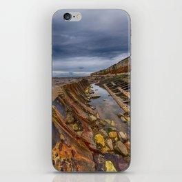 Hunstanton shipwreck iPhone Skin