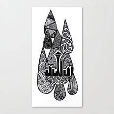 Tears for Seattle Canvas Print