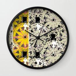 Medallions Re-visitd 6 Wall Clock