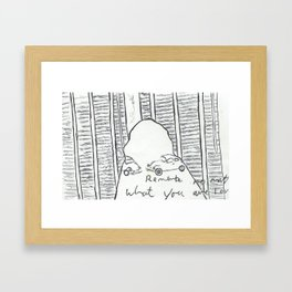 Remember No Matter What, You are Loved Framed Art Print