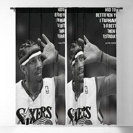 Allen Iverson Basketball Motivational Canvas, Allen Iverson Wall Art, NB-A Basketball Wall Art, Home Décor, Sport Fan Gift, Basketball Print Blackout Curtain