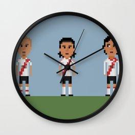 River Plate Wall Clock