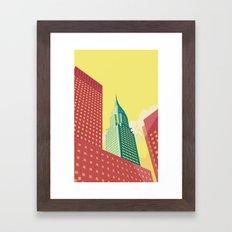 Chrysler Building NYC Framed Art Print