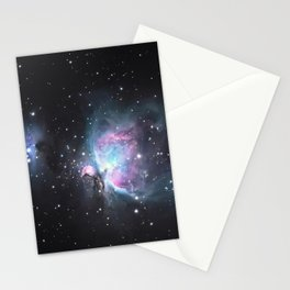 Great Orion Nebula M42, in the constellation of Orion, Milky Way Stationery Cards