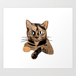 Cocoa Art Print