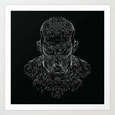 Wake Structure Art Print