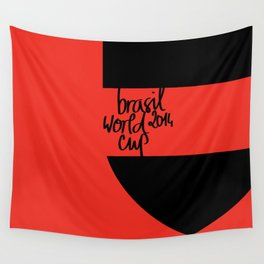 Brazil World Cup 2014 - Poster n°6 Wall Tapestry