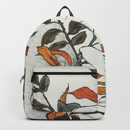 70s flowers Backpack