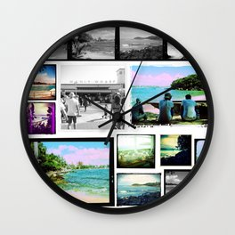 Manly Wall Clock