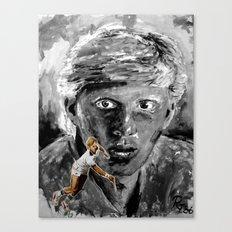 The young BORIS BECKER Canvas Print