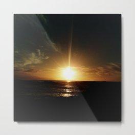 Sunset at Tenerife Metal Print