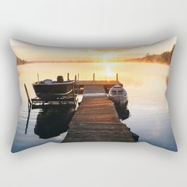 Sunrise at the Cottage Rectangular Pillow