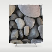 rocky Shower Curtains featuring Rocky by Claire Laminen Photo