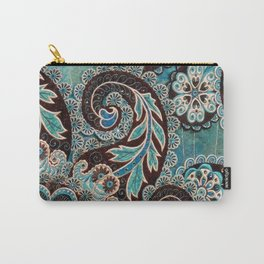 Pocketful of Paisleys Carry-All Pouch