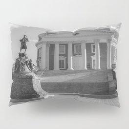 Charlottesville Virginia Campus Black White Print Pillow Sham