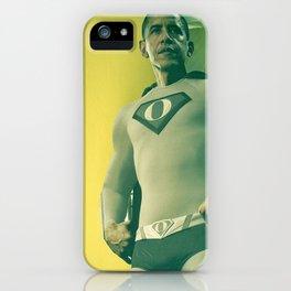 super obama iPhone Case