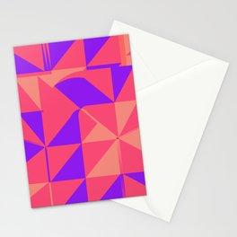 Girlfriend  - geometric design pink Stationery Cards