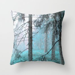 Dormant Throw Pillow