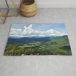 View of the Southern Appalachian Mountains looking toward North Carolina Rug