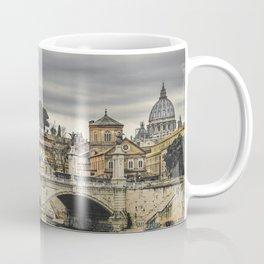 Tiber River Rome Cityscape Photo Coffee Mug