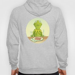 Kermit Loves Facon Hoody