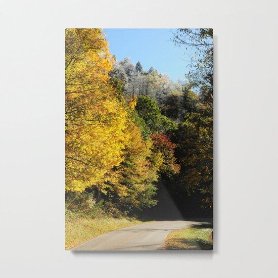 Down this road Metal Print