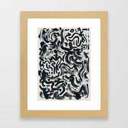 Pattern № 70 Framed Art Print