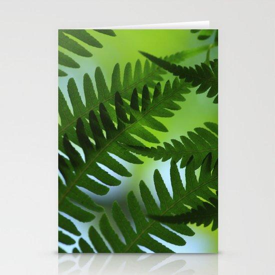 Dicksonia antarctica – the soft tree fern Stationery Cards