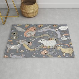 modern farmhouse style accessories, stuff you need! Rug
