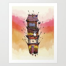 Fly House Art Print