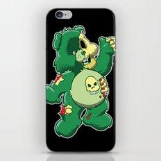 Zombie care bear iPhone & iPod Skin