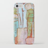 egyptian iPhone & iPod Cases featuring Egyptian Faience by cathie joy young