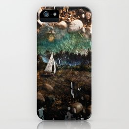 Sand Sailing iPhone Case