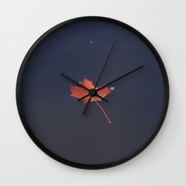 Maple Leaf Wall Clock