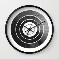 Vinyl Intentions Wall Clock