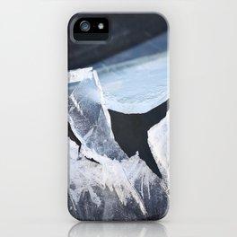 Broken Ice Winter Scene #decor #society6 #buyart iPhone Case