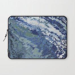 Deep Blue Ocean Wake Laptop Sleeve