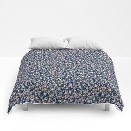 Garden Ditzy - Purple Comforters