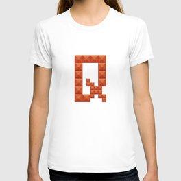 "Letter ""Q"" print in beautiful design Fashion Modern Style T-shirt"